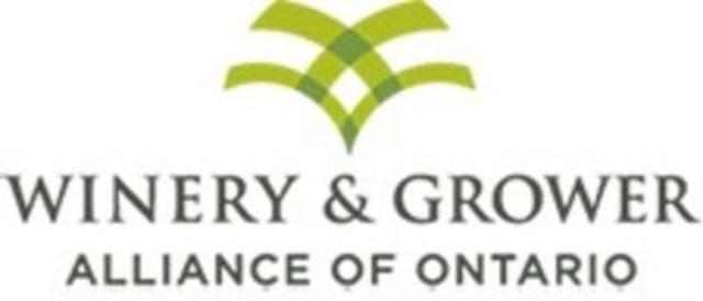 Winery & Grower Alliance of Ontario (WGAO) (CNW Group/Winery & Grower Alliance of Ontario)