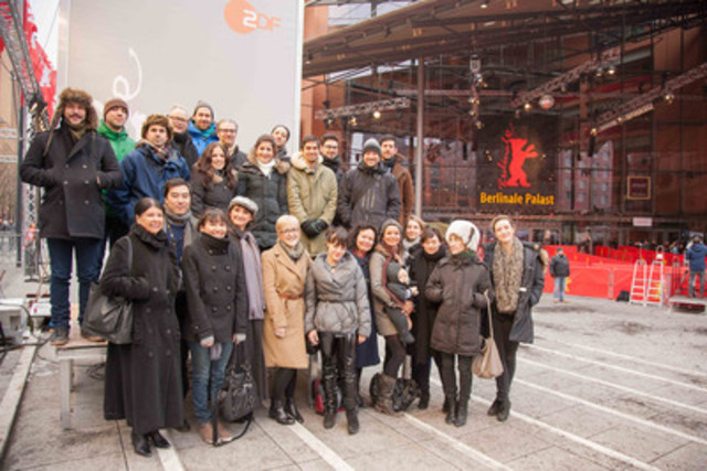 Regroupement des talents canadiens à Berlin. Plus d'une trentaine de films canadiens sont présentés dans le cadre du Festival et des projections Perspective Canada de Téléfilm au Marché du film européen. (Groupe CNW/TELEFILM CANADA)