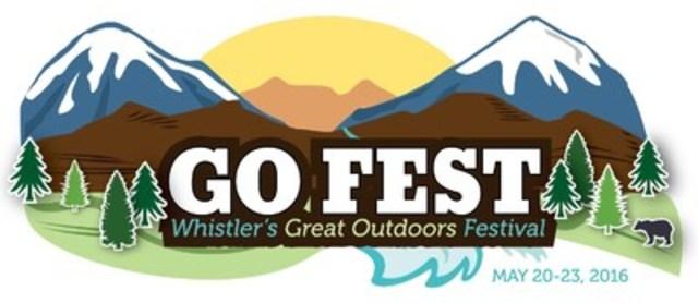 GO Fest, Whistler's Great Outdoors Festival May 20-23, 2016 (CNW Group/GO Fest Whistler)