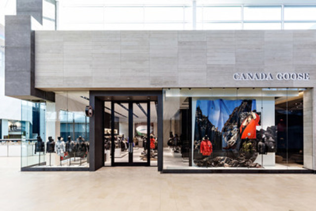Canada Goose opens its doors in the city it calls home (CNW Group/Canada Goose)