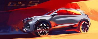 جي أيه سي موتور ستطلق أعمالها في أوروبا بسيارتها الرباعية الدفع الممتازة الجديدة بالكامل جي أس 5 في معرض سيارات باريس