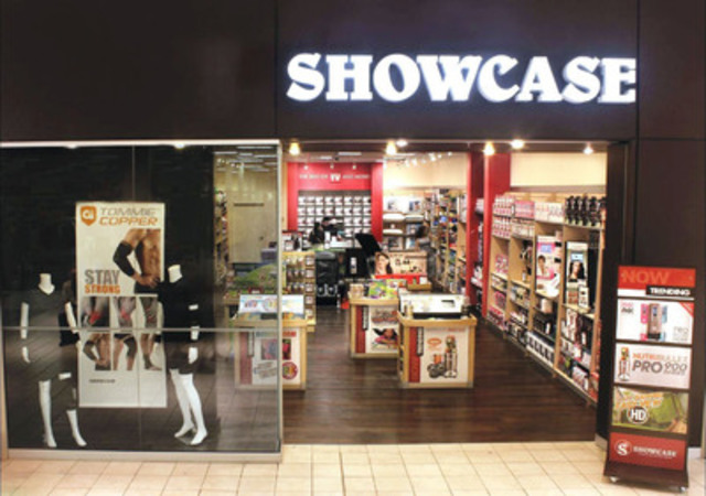 With more than 100 stores across Canada, Showcase has hundreds of fun and interactive products, including Canada's largest selection of Frozen movie merchandise. (CNW Group/Showcase Canada)