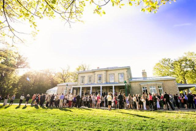 La villa du domaine Cataraqui. CCNQ, Marc-Éric Baillargeon (Groupe CNW/Commission de la capitale nationale du Québec (CCNQ))