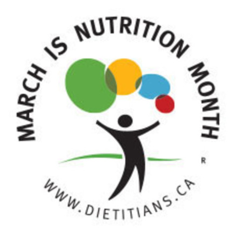 Dietitians of Canada Celebrate Nutrition Month (CNW Group/Dietitians of Canada)
