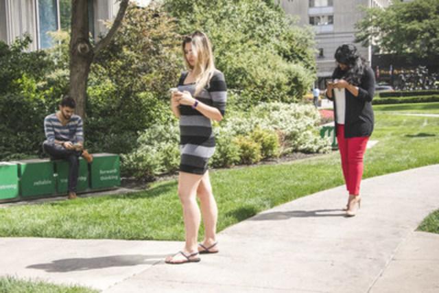 Pokémon GO fait bouger les jeunes de la génération du millénaire : 60 % d'entre eux affirment bouger davantage (Groupe CNW/Société Financière Manuvie)