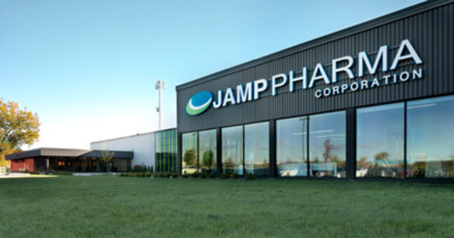 JAMP Pharma's new head office on Boucherville, Québec. (c) Bénédicte Brocard (CNW ...