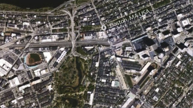 Boston, United States. Captured by Iris, UrtheCast's Ultra HD video camera aboard the International Space Station. © 2015 UrtheCast Corp.
