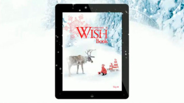 Video: How to Use Sears Canada's New Wish Book App for Ipad