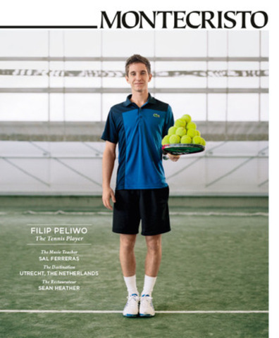 """The goal is to be number one,"" says 19-year-old tennis star Filip Peliwo in MONTECRISTO's summer issue. ""It's always been the goal. That will never change."" Peliwo is in qualifiers for Men's Wimbledon, has won junior titles at Wimbledon and the US Open, and was the World Junior Champion in 2012. www.montecristomagazine.com. (CNW Group/NUVO Magazine Ltd.) (CNW Group/MONTECRISTO Magazine)"