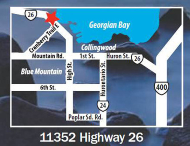 11352 Highway 26 (CNW Group/Wyldewood Cove)