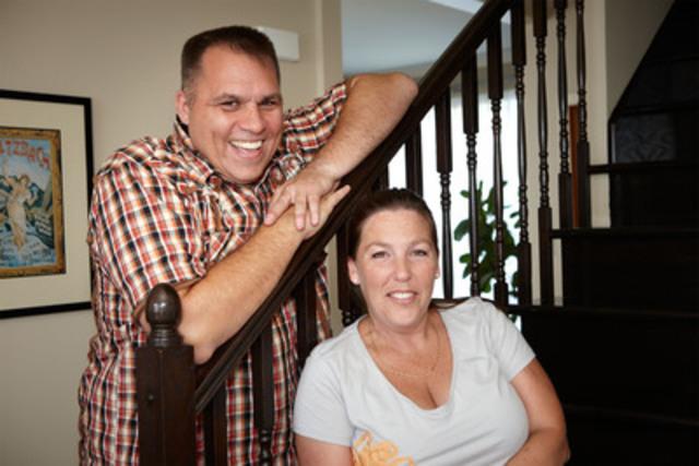 Les Doyle-Begg : Randy Begg et Kim Doyle (photo de Martin Beaulieu) (Groupe CNW/Shell Canada Limitée)