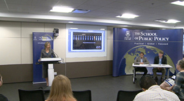Video: Lana Wells and Herb Emery discuss the findings of their report on the prevalence and costs of domestic violence in Alberta.