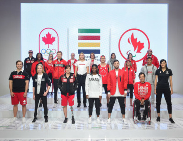 Hudson's Bay Company, the Canadian Olympic Committee, and the Canadian Paralympic Committee launch the Team Canada Collection for Rio 2016. (Credit: George Pimentel) (CNW Group/Hudson's Bay)