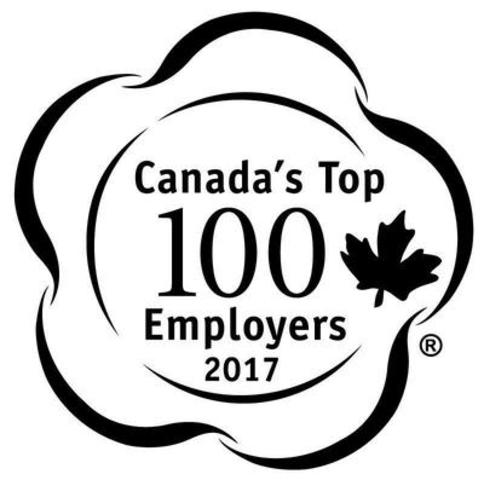Canada's Top 100 Employers (2017) (CNW Group/Mediacorp Canada Inc.)