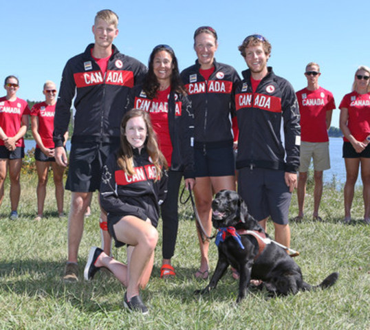 Canada's mixed coxed four (LTAMix4+) crew will arrive in Rio de Janeiro with significant experience from three-time Paralympians Meghan Montgomery (Winnipeg, Man.) and Victoria Nolan (Toronto, Ont.), as well as coxswain Kristen Kit (St. Catharines, Ont.), who will be competing at her second Paralympic Games. World indoor rowing champion Curtis Halladay (Sudbury, Ont.) and former national level able-bodied rower Andrew Todd (Thunder Bay, Ont.) round out the crew and will make their Paralympic Games debuts in Rio. (CNW Group/Canadian Paralympic Committee (CPC))