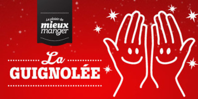 The Joy of Eating Better food drive (CNW Group/Sobeys Québec)