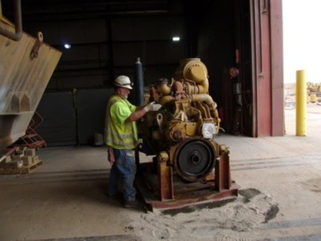 Rebuilding an engine (CNW Group/Rye Patch Gold)