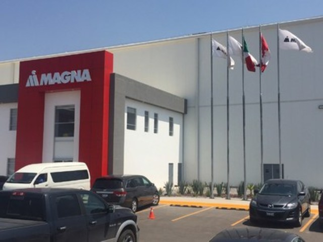 Magna announces the grand opening of new Mexico facility (CNW Group/Magna International Inc.)