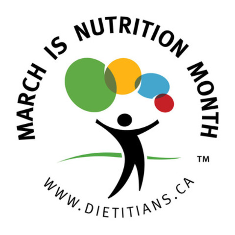 March is Nutrition Month (CNW Group/Dietitians of Canada)