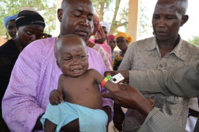 Zinder - child health clinic (CNW Group/World Vision Canada)