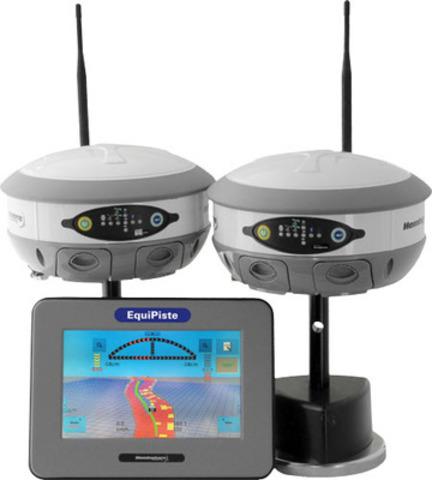 Hemisphere GPS EquiPiste & S320 Antenna (CNW Group/Hemisphere GPS Inc.)