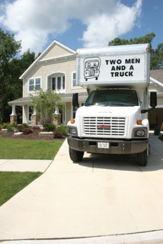 On the move with Two Men and a Truck (CNW Group/Two Men and a Truck)