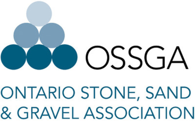 Ontario Stone Sand & Gravel Association (CNW Group/Ontario Stone Sand & Gravel Association)