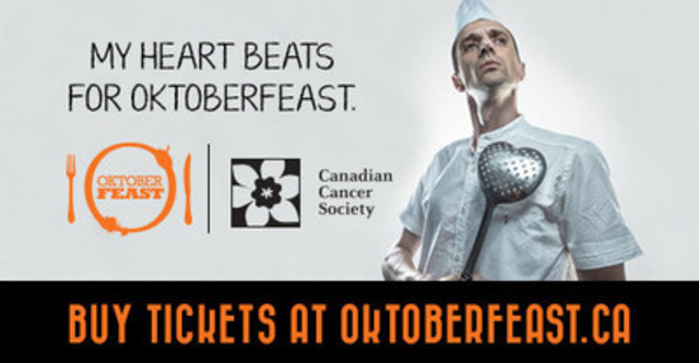 OktoberFEAST in Toronto (CNW Group/Canadian Cancer Society (Ontario Division))