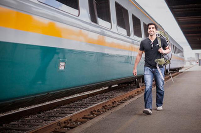 VIA Rail passenger (CNW Group/VIA Rail Canada Inc.)