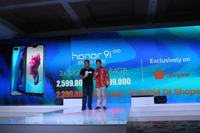 """تحت شعار استجلاب"""" الجمال كله""""، هاتف أونور Honor 9i سيكون رمزا للأناقة في صناعة الهواتف الذكية في إندونيسيا"""