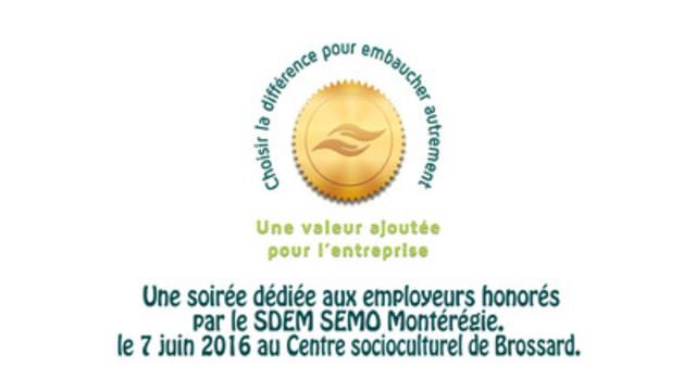 Une courte vidéo sur l'événement et la remise des certificats de reconnaissance du SDEM SEMO Montérégie