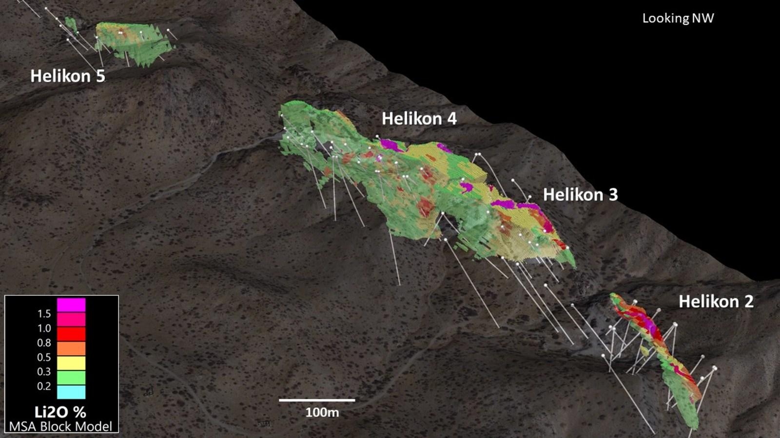 Figure 5. 3D View of Helikon 2 - 5