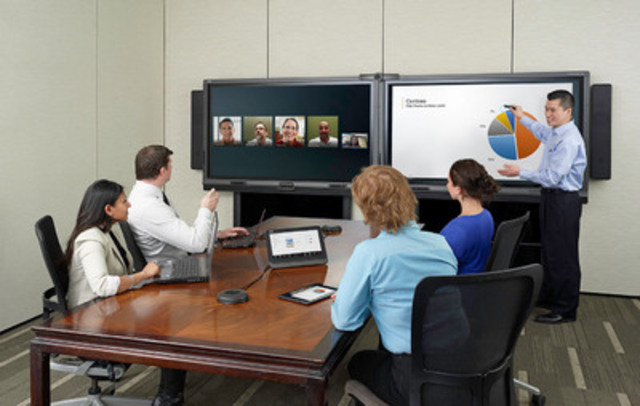 SMART Technologies announces further enhancements to SMART Room System for Microsoft Lync (CNW Group/SMART Technologies Inc.)
