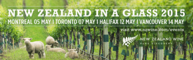 Join us and Discover New Zealand in a Glass Meet the representatives, taste exceptional wines and make our discoveries your own at these exclusive tastings http://www.nzwine.com/events/canada/ (CNW Group/Ketchin Marketing)