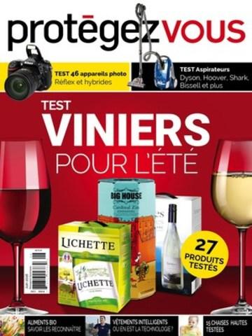 Page couverture, édition de juin // Protégez-Vous. (Groupe CNW/Protégez-Vous)