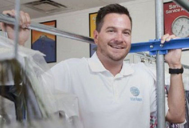 Urban Hamper Co-Founder Rob Winn is working with dry cleaners to revolutionize the industry (CNW Group/Urban Hamper)