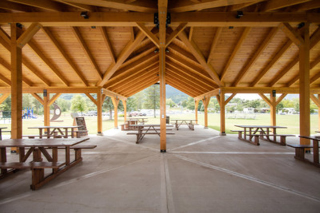 AKBLG -- Association of Kootenay Boundary Local Governments: City of Castlegar for the Celgar Pavilion (CNW Group/Canadian Wood Council for Wood WORKS! BC)