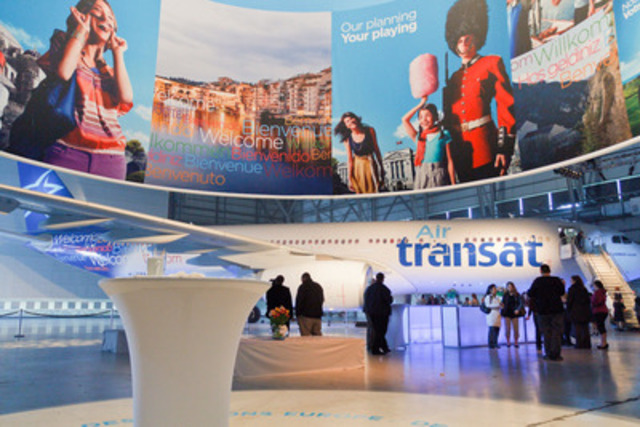 Air Transat mark their 25th anniversary by unveiling an all-new, entirely redesigned cabin interior. (CNW ...