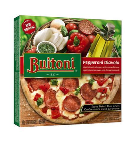 BUITONI Pepperoni Diavolo (Groupe CNW/Nestle Canada Inc.)