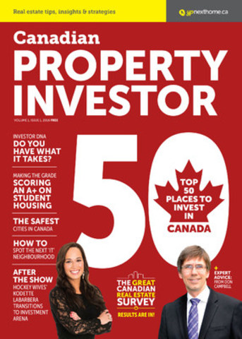 YPNextHome's premiere issue of Canadian Property Investor magazine (CNW Group/Yellow Pages Homes Limited)
