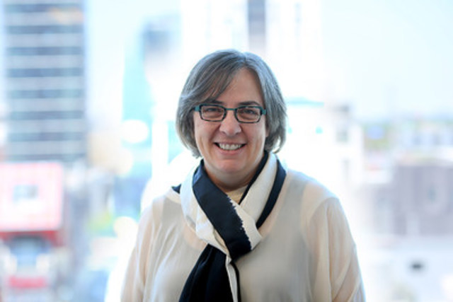 Dr. Gillian Siddall, appointed Vice-President, Academic and Provost of OCAD University (Photo credit: Martin Iskander) (CNW Group/OCAD University)