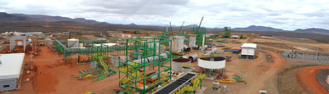 Photo 6: Panoramic of Project Site as at September 16, 2013 (CNW Group/Largo Resources Ltd.)