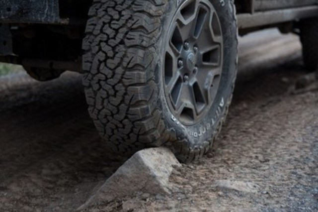 BFGoodrich® has sold more than 1 million All-Terrain T/A® KO2 tires in North America (CNW Group/BFGoodrich)