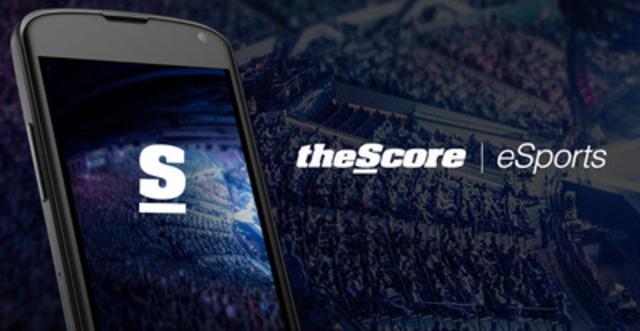 theScore eSports (CNW Group/theScore, Inc.)