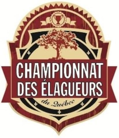 Logo: Championnat des élagueurs du Québec (Groupe CNW/Société internationale d'arboriculture Québec)