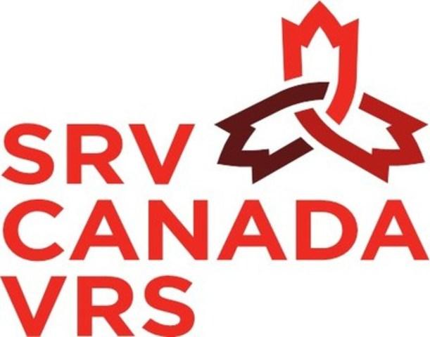 Logo: SRV Canada VRS (Groupe CNW/Administrateur canadien du SRV (ACS), inc.)