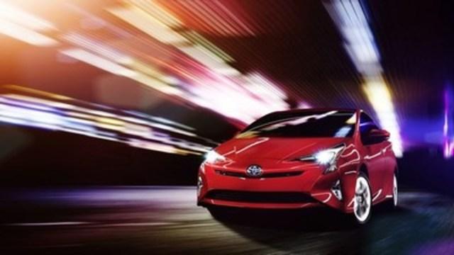 Au-delà du possible – La Prius 2016 annonce la voiture de demain, aujourd'hui même à Montréal (Groupe CNW/Toyota Canada Inc.)