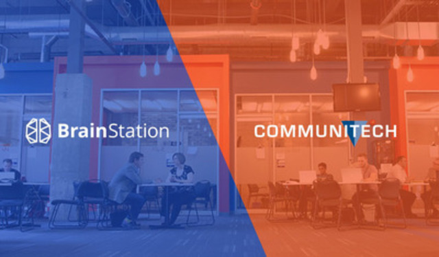 BrainStation and Communitech Launch Partnership (CNW Group/BrainStation)