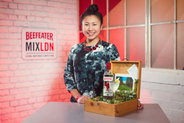 Beefeater MIXLDN Global Bartender Competition Champion Evelyn Chick (CNW Group/Corby Spirit and Wine Communications)
