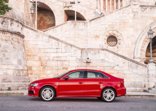 A3 Sedan (Groupe CNW/Audi Canada Inc.)